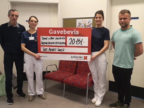 Penge til Børne- og Ungecancer på Aalborg Universitetshospital