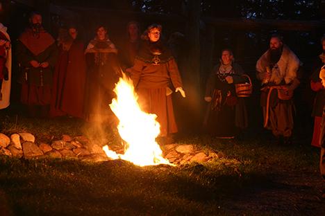 Vintersolhvervsfest på Fyrkat