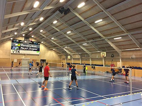 En god dag for de ældste ungdomsspillere i Hadsund Badminton Klub