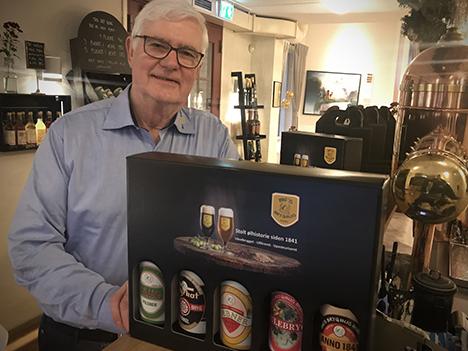 Bie Øl i ny lækker gaveæske