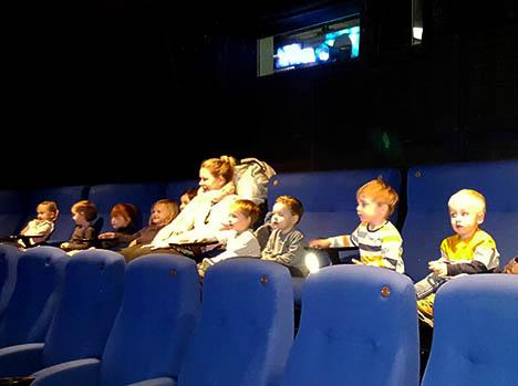 Kammas Børneunivers var med ´Rød Stue´ i Hadsund biograf