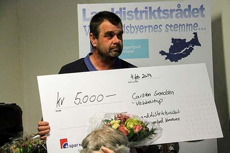 Carsten Svendsen fra Vebbestrup FDF Årets Ildsjæl 2019