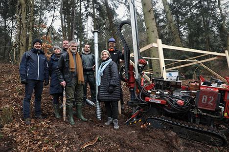 Løvtag projektet fik første pløk i jorden i skoven ved Als Odde