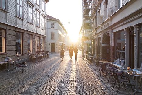 Dejlige byer i Jylland