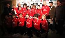 Mariager IK U13 Drenge fodbold modtager Årets talent/præstation 2019