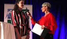 Annsofie Nielsen modtager Årets ungleder 2019