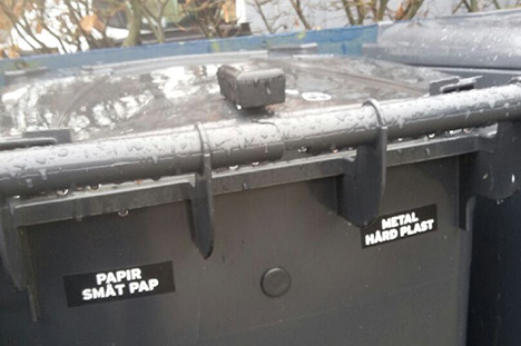 Hvordan går det med at sortere dit affald?