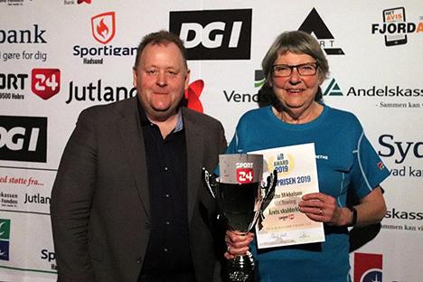 Grethe Mikkelsen modtager Årets Skulderklap 2019