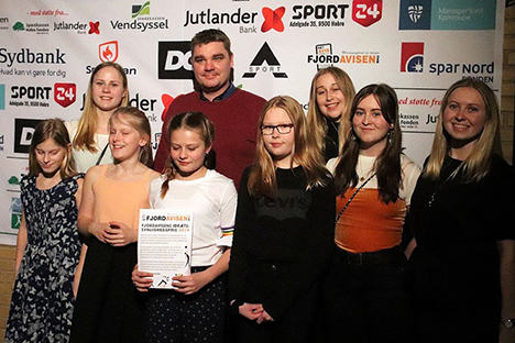 Hobro Svømmeklub modtager Synlighedsprisen 2019