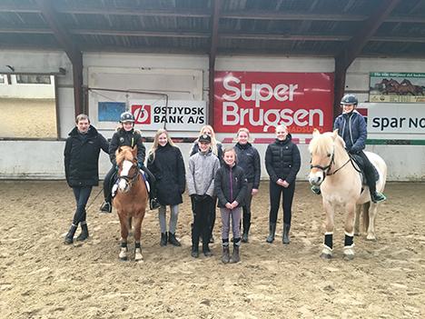 Talentprojekt i Rideklubben Hadsund med støtte fra Mariagerfjord Kommunes Foreningsrådet