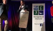 Sydbank Fonden støttede Mariagerfjord Idrætsråds store Award med 25.000 kroner