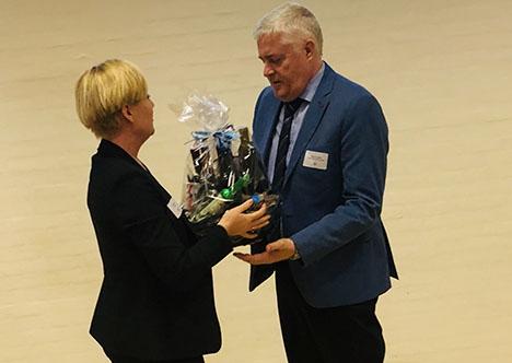 Pia Axelsen  overtager formandsposten i Mariagerfjord Erhvervsråd