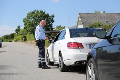 36-årig mand anholdt og sigtet for narkokørsel og kørsel i frakendelsestiden