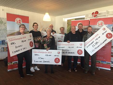 Feriepartner uddelte penge til lokale initiativer