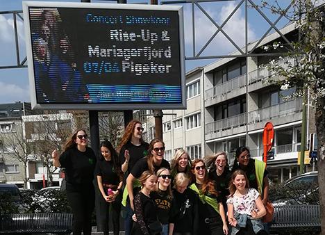 Mariagerfjord Pigekor tog udlandet med storm