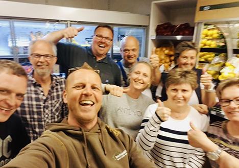 Støtteforening og ny bestyrelse i første fælles tiltag for DagliBrugsen i Veddum