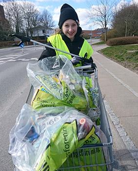 Affaldsindsamlingen 2019 i Mariagerfjord – Mange var med.