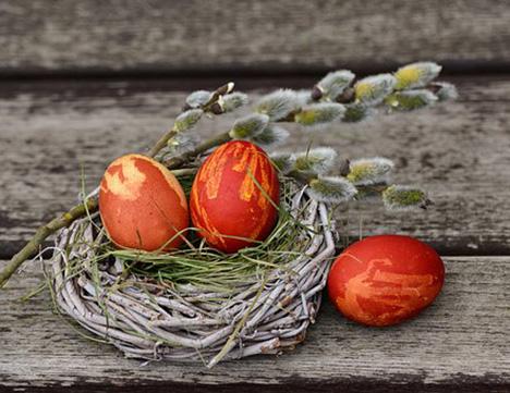 Efter fasten kommer påskeæg