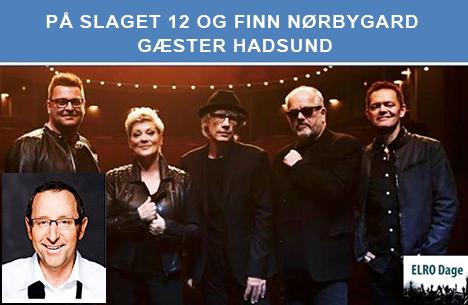 På Slaget 12 og Finn Nørbygaard gæster Hadsund
