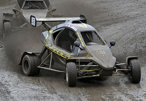 CrossCar stormer frem - også i RallyX Nordic
