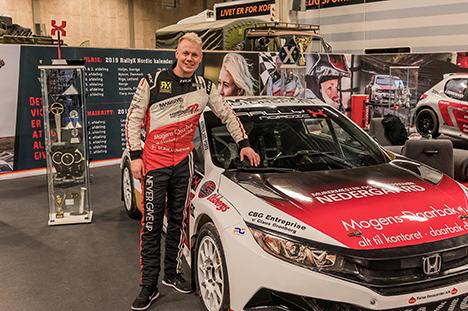 Fartnyhed i RallyX Nordic bliver ekstra spektakulær på Nysumbanen