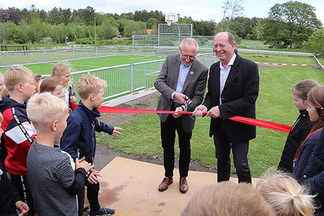 Ny Multibane på Hadsund skole