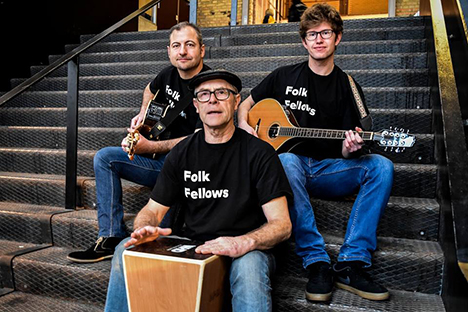 Folk Fellows besøger Styret