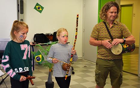 Brasilianske rytmer og selvlysende lydunivers satte gang i Kulturskolen