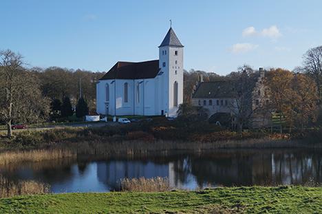 St. Bededagsvandring gennem Munkholm i Mariager.