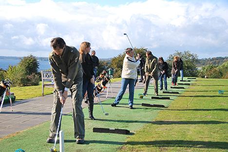 Åbent Hus i Mariagerfjord Golfklub, med gratis golfsæt