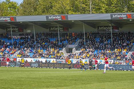 Jutlander Bank frikøber alle hjemmeholdspladser til playoff-kamp
