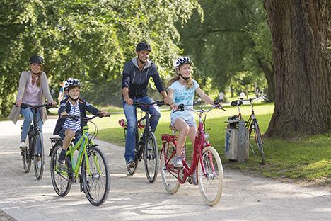Danskerne glemmer cykelhjelmen