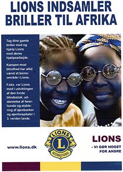 Lions Club indsamler briller til Afrika