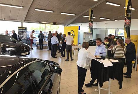 Penge at spare og sager at støtte hos Bilhuset Haldrup i weekenden