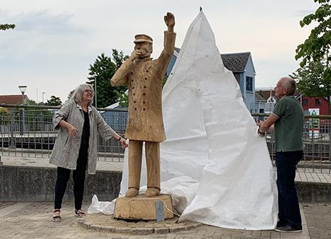 Jernbanens 150års jubilæum | Skulpturer skaber stemning og minder i Arden
