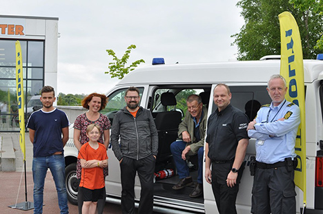 Festlig fokus i Terndrup | Politiet vil hjælpe de unge