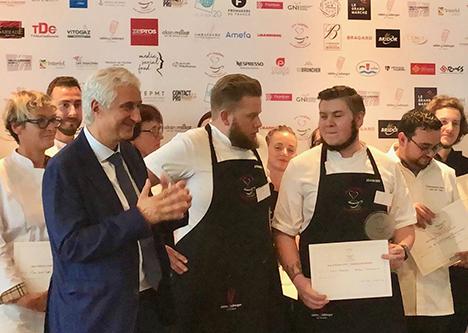 Hotel Amerika vinder pris for, bedste gourmet morgenmad, ved konkurrence i Paris
