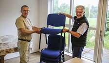 Nye stole til hundeførerforeningen