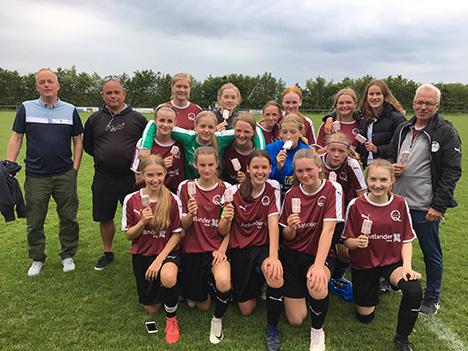 FyrkatQ U15 piger i semifinalen om Jysk Mesterskab