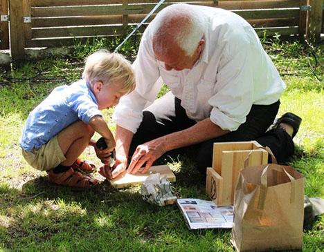 Danmarks Naturfredningsforening var med til Børnefesten I Mariager