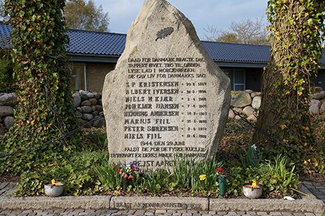 75-året for henrettelse af Hvidstengruppen