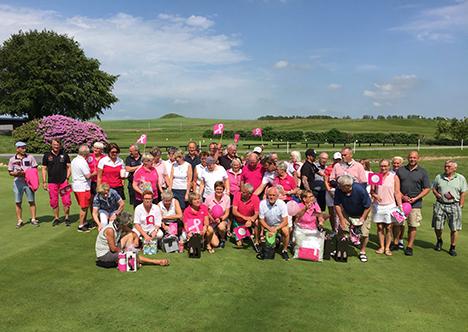 Pink Cup 2019 i Hobro Golfklub sender 30.000 kroner videre til Kræftens bekæmpelse