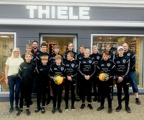 Thiele Hadsund støtte sender HB-drenge til Italien