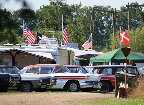 Us Car Camp i Øster Hurup | Danmarks smukkeste træf for Amerikaner-bil-elskere