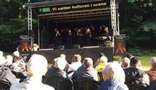 Årets Koncert med Mariager Fjord pigekor og Friluftsgudstjeneste på Sødisbakke i Mariager var en succes