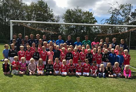Fodboldskole 2019 i Terndrup var en succes