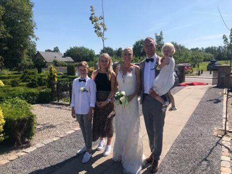 Gift i Skelund kirke