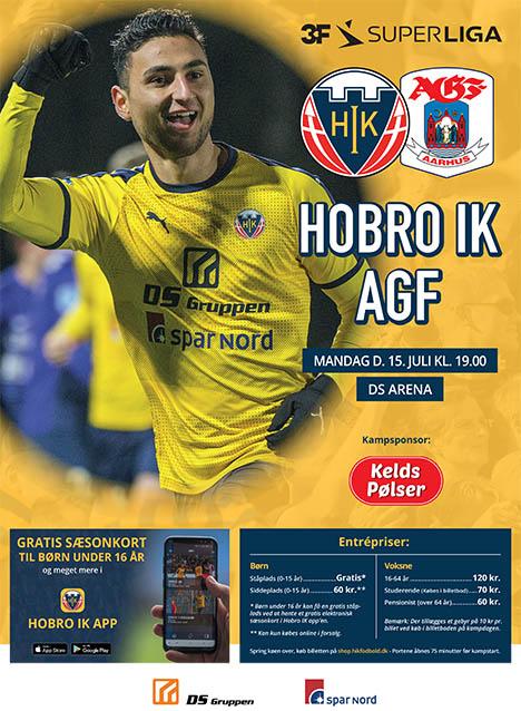Hobro IK tager imod AGF i sæsonåbning på DS Arena