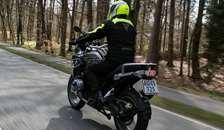Kør sikkert på motorcykel