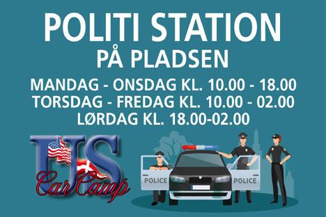 MOBIL POLITISTATION PÅ PLADSEN I ÅR